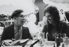Alice Cooper having breakfast with Groucho Marx. (Photo: Neal Preston)