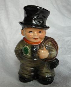 f6a52b99ddcf Vintage St. Patrick s Day decoration. 1972 Irish Chimney Sweep Porcelain  Figurine by Goebel.