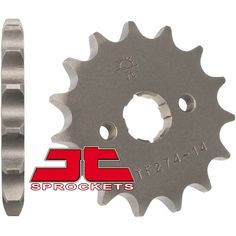 JT Sprockets Honda CRF100F/XR100 Steel Front Sprocket 14 Tooth