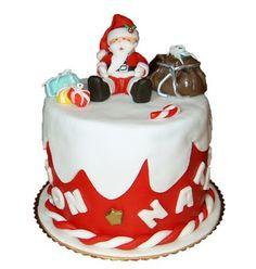Le Torte di Sara Cake Designer: Il panettone decorato! Idea per il Natale 2010!