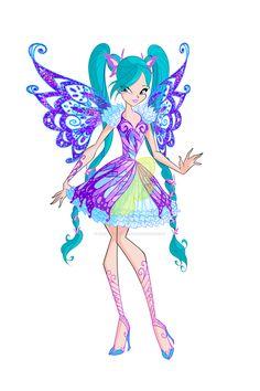 Winx: Fabia Butterflix by DragonShinyFlame.deviantart.com on @DeviantArt
