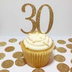 Gold Glitter Happy Birthday Banner 6 INCH LETTERS Custom Birthday