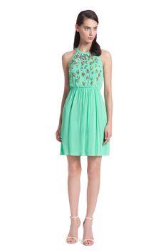 Sprout Embroidery Esmerelda Dress