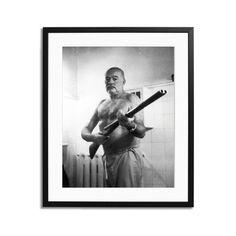My design inspiration: Ernest Hemingway Shotgun Framed on Fab.