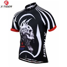 X-TIGER 17 Style  Breathable Cycling Jersey Summer MTB Bicycle Clothing Maillot Roupas Ciclismo Bike Clothes Sportwear For Man
