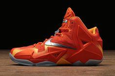 hot sale online 73d52 4eb10 Nike LeBron 11  Forging Iron     Closer Look