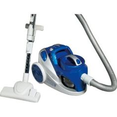 """Bomann BS 971 CB Canister / 2000 watts / no bag / blue silver-Do """"Bagless vacuum cleaner"""