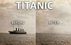 The story of Titanic in 1 second