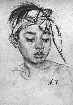 Francis Vallejo | inspiration: nicolai fechin b.1881-1955