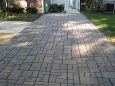 Permeable Pavement walkway