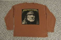 #Rare #Vintage #repro #WillieNelsonSpiritTour #Sweater #Willie #Outlaw #Country XL #Unbranded #Henley