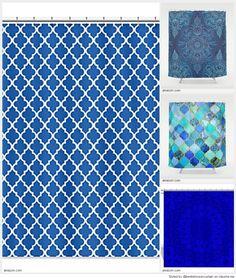 Best Cobalt Blue Shower Curtain 2015 Curtains Design Designs