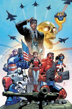 ComicsOdissey — U.S.AVENGERS #1