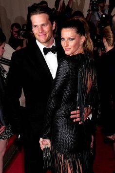 Tom Brady & Gisele Bundchen #Patriots