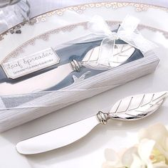 New Wedding Favors Butter Knife Dinnerware Cuchillos Para Mantequilla Creative Wedding Gifts For Guests Luxury Fine Butter Knife