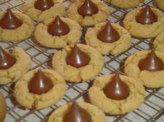Homemade Peanut Blossom Cookies - Christmas Cookies, Holiday Parties