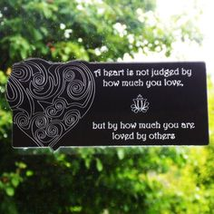 Judged Heart and Quote Acrylic Mirror - Suave Petal Acrylic Mirror, Home Signs, Quote, Heart, Quotation, Qoutes, Hearts, Quotes