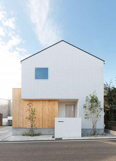 Minimal House Design, Modern Villa Design, Small House Design, Dream Home Design, Architecture Design, Facade Design, Japan House Design, House Tokyo, Muji Home