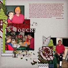 Kit: Letters for Santa by Fit 2 Be Scrapped Template: Pack 80 by AKDesigns