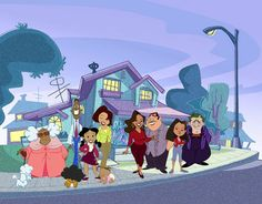 """The Proud Family"" aired on Disney Channel in 2005. It showed a lot of racial stereotypes.   Many, if not all, of the African American characters in this show are portrayed as rap lovers who always talk in slang. The whites are portrayed as wannabe gangsters but are generally shut down because of this. The Asians are brainy and Latinos only speak Spanish."