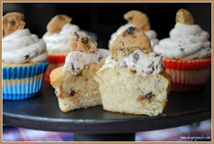 Shugary Sweets: Chocolate Chip Cookie Dough Cupcakes