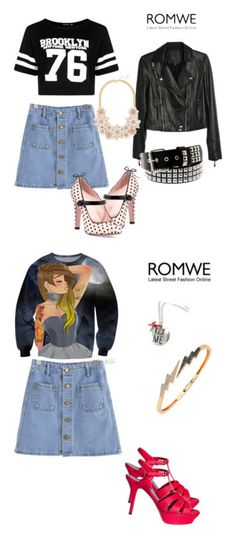 """""""My Chemical Romance"""" by lady-shadylady ❤ liked on Polyvore featuring Boohoo, Paige Denim, RED Valentino, men's fashion, menswear, Bee Goddess and Yves Saint Laurent"""