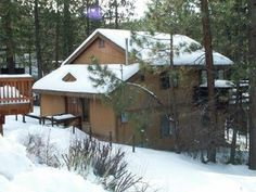 """Cabin """"Alpine View"""" Interested in booking this cabin call us today at 800-693-0018 or visit our website at www.villagereservations.net"""