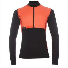47085ec30 Paul Smith 531 Black Merino Wool Cycling Jersey With Windproof Panels Front  Cycling News