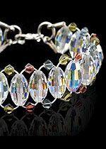 Crystal Ladder Bracelet Tutorial^