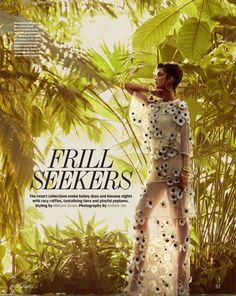 Frill Seekers - Maria Palm by Andrew Yee for the latest issue of How to Spend It from the Financial Times