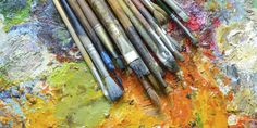 21 Hacks To Help You Organize Your Art Studio In 2015:: There's never a better time to organize your studio than the week after New Year's Day.