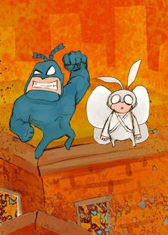 The Tick.One of the great cartoons.
