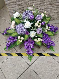 Grave Flowers, Cemetery Flowers, Flower Spray, Flower Diy, Cut Flowers, Funeral, Floral Arrangements, Floral Wreath, Diy Crafts