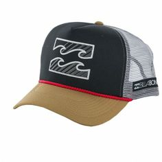 48d4d75efe5f9 Boné Billabong Men s Amped Trucker Hat Tobacco  Billabong Boné