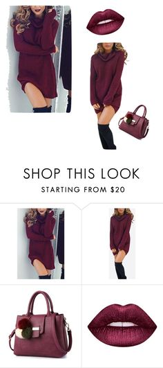 """Untitled #11"" by elkaa993 ❤ liked on Polyvore featuring Lime Crime"