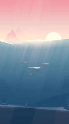 App Illustrations – Three Phases on - Concept - Artwork - Illustration - CGI - Design - Wallpaper Phone Backgrounds, Wallpaper Backgrounds, Iphone Wallpaper Vector, Iphone Wallpaper Water, Simple Backgrounds, Minimalist Wallpaper, Cool Wallpaper, Cute Wallpapers, Aesthetic Wallpapers