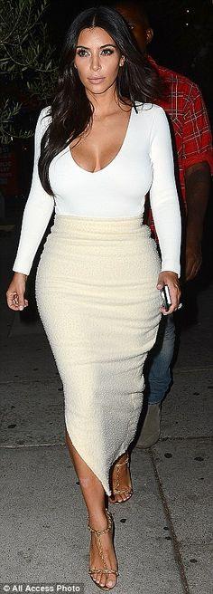 Kim Kardashian heads to the gym following 7-pound weight loss #dailymail