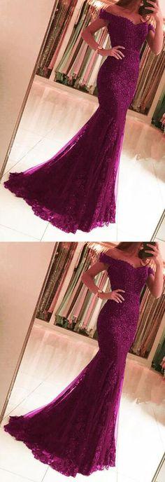 sexy prom dress,beading prom dress,grape prom dresses,lace prom