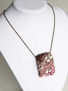 flower necklace (made at Zuzana Zu.Zu Liptáková`s workshop) | by Marta Navratilova