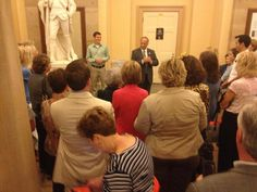 A huge thank you to Congressman Steve King for hosting and Tim Barton for leading our Capitol tour tonight before Eagle Council! 9-12-13