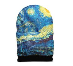 Vincent Van Gogh backpack bag by ImWithYouFriend on Etsy