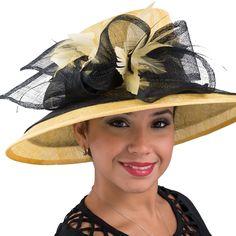 102546 - Stylish Sinamay Hat