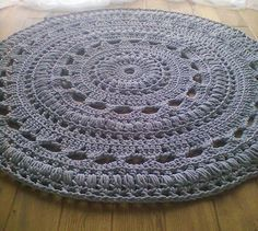 crochet rug | How Do It Info