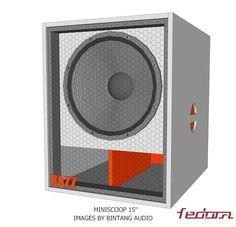 Miniscoop Speaker Plans 15 Inch - Full Bass 15 Subwoofer Box, Subwoofer Box Design, Speaker Box Design, 12 Inch Sub Box, Sub Box Design, Turbine Engine, Speaker Plans, Diy Speakers, Dj Equipment