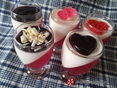 Greek Recipes, Jello, Panna Cotta, Sweets, Baking, Ethnic Recipes, Party, Food, Gelatin