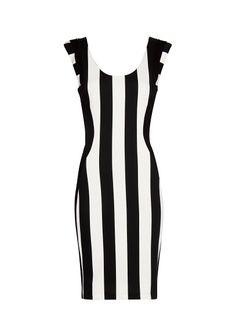 MANGO - Kleid mit Längsstreifen