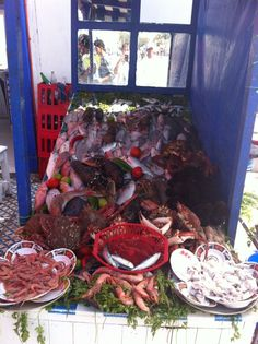 Essaouira fish stall
