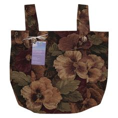 walker+bags   Classic Garden Tapestry Walker Bag