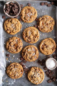 Salted Caramel Cookies, Salted Caramel Chocolate, Chocolate Caramels, Chocolate Tarts, Salted Caramels, Salted Egg, Caramel Cheesecake, Chocolate Ganache, Baking Recipes