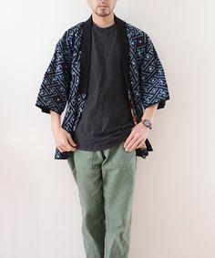 Simple Types Of Male Cardigan - Cheap Mens Fashion, Mens Boots Fashion, Men Fashion, Men's Yukata, Modern Kimono, Batik Fashion, Inspiration Mode, Fashion Inspiration, Fashion Books
